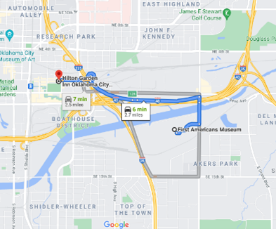 Map Hilton-FAM